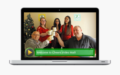 CHEERS BRINGS YOUR EMAIL MESSAGES TO LIFE. Start sending video emails for free today!